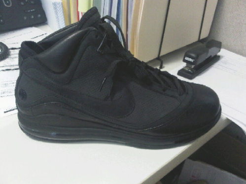 Nike Air Max LeBron VII NFW 'All Black Everything' - Jay-Z Exclusive