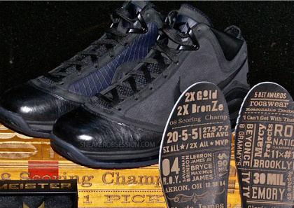 Nike Air Max LeBron VII 'All Black Everything' - New Images