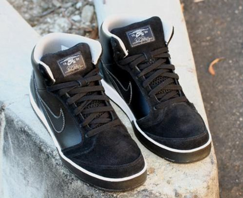 huge selection of 50% price multiple colors Nike SB Zoom P.Rod IV High - Black/Silver   SneakerFiles
