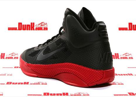 Red Black Red Nike Zoom Hyperfuse Xdr With