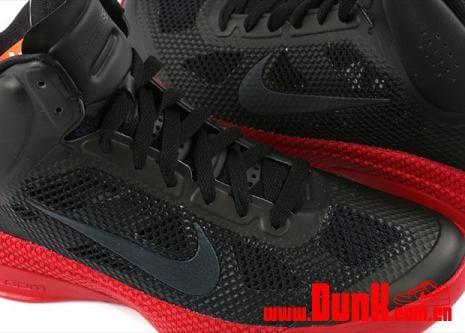 Nike Hyperfuse XDR Black / Varsity Red