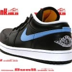 Air Jordan 1 Phat Low Black / University Blue