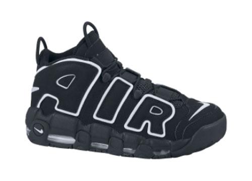 Nike Air More Uptempo Black/White Returns