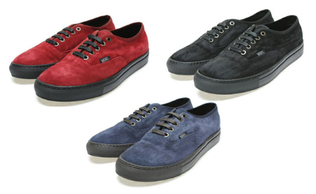 VANS Authentic - 'Suede' Pack