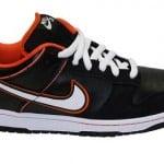 Nike Dunk Low Pro SB Black / White-Orange Blaze