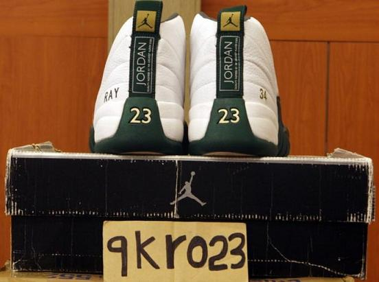 Air Jordan XII PE - Ray Allen Seattle SuperSonics