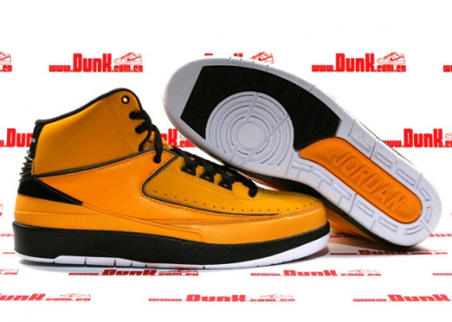 newest 75024 248ae Air Jordan Retro II - Candy Pack- Del Sol Black-White
