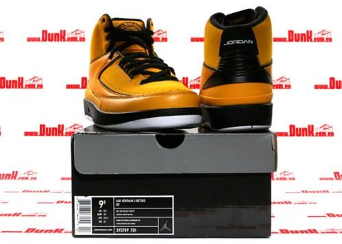 Air Jordan Retro II - Candy Pack- Del Sol/Black-White