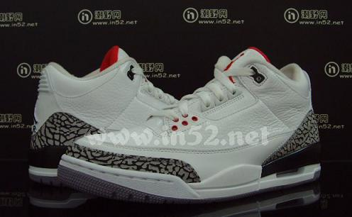 Air Jordan III White / Cement New Images