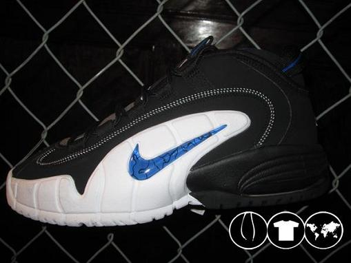 Nike Air Max Penny 1 Black/White-Varsity Royal
