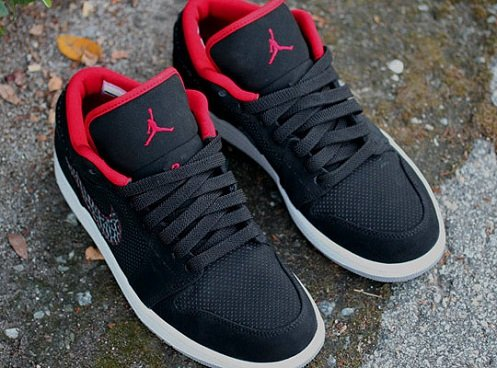 quality design 52994 a9e5b TAGS Air Jordan · Air Jordan 1 Phat Low air jordan 1 low black red ...