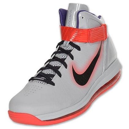 Nike Air Max Hyperdunk 2010 Wolf GreyBlack Red SneakerFiles  SneakerFiles