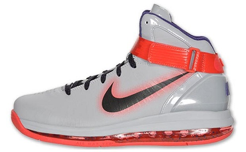 Nike Air Max Hyperdunk 2010 - Wolf Grey/Black-Red