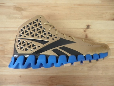 "That said, a limited edition ""Gold Rush"" Reebok ZigTech Slash"