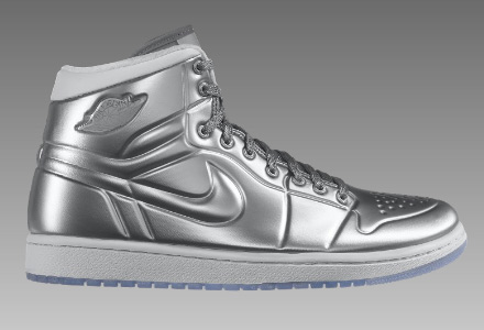 cheap for discount 19ecf 923b9 Air Jordan 1 Anodized Armor Silver   White Available Now