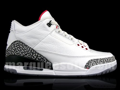 Air Jordan III White /Cement