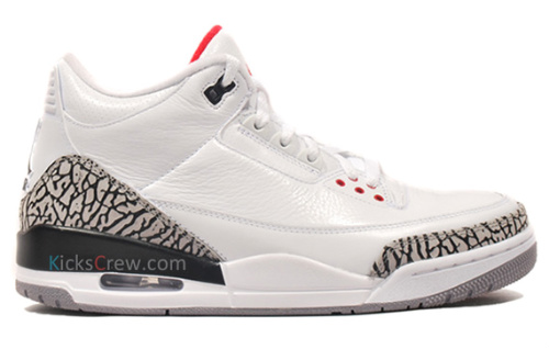 Air Jordan Retro III 'White Cement' - New Images