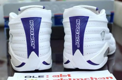 Air Jordan XIV - Mike Bibby Kings PE