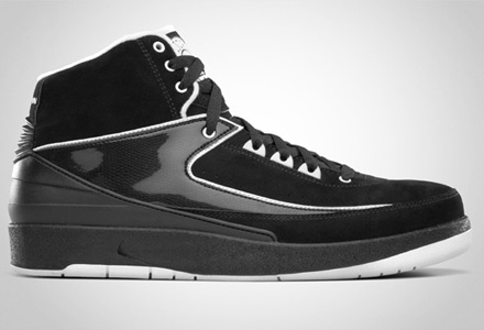 Release Reminder: Air Jordan 2 Retro Black / White