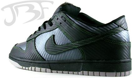 Custom Nike Dunk Carbon Fiber V.2 JBFcustoms