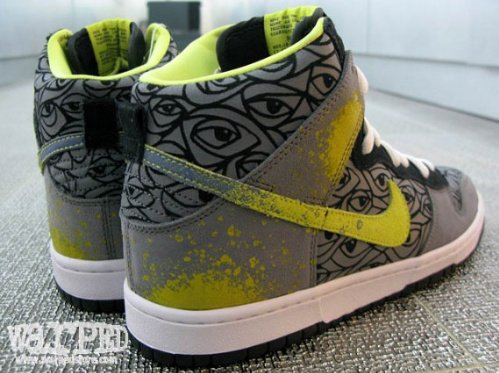 Nike SB Dunk High - Ron Cameron - Unreleased Sample|New Images