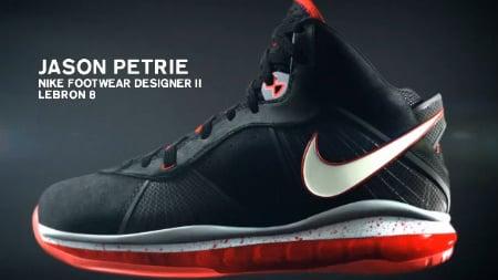 Jason Petrie Details The Nike Air Max Lebron VIII