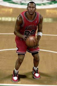 NBA 2K11: Become The Greatest In The Jordan Challenges