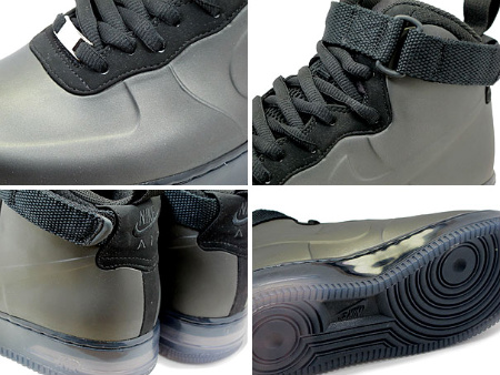 Nike Air Force 1 Foamposite Black - New Images