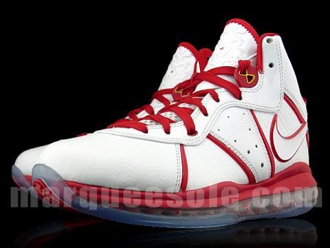 Nike LeBron 8 – 'Un-China' White/Gold-Varsity Red