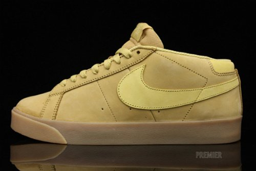 Nike SB Blazer CS - Metallic Gold - Gold Dust - November 2010