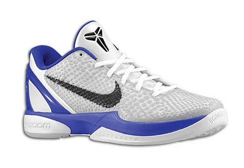 Nike Zoom Kobe VI (6) White / Neutral Grey / Concord / Black