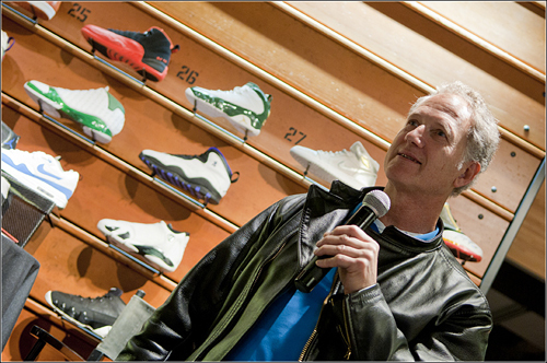 Tinker Hatfield Interview at Jordan x Sole Collector Limited Release Event