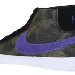 Nike SB Blazer Black / Varsity Purple- Volt Now Available