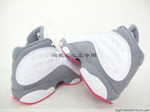 Air Jordan XIII GS Wolf-Grey / Rose Pink