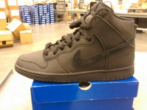 Nike SB Dunk High Premium - 'Blackout'