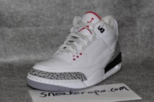 Air Jordan 3 Retro - 'White Cement' - New Photos