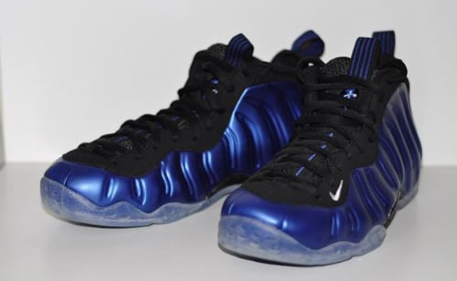 Nike Air Foamposite One 'Dark Neon Royal' - Detailed Shots