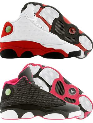 Air Jordan XIII Holiday GS Releases Available Online