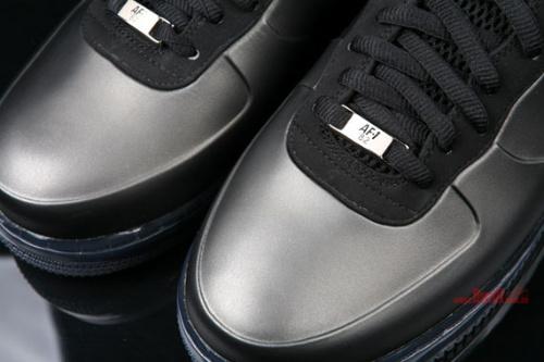 Nike Air Force 1 'Foamposite' - Black - Detailed Look