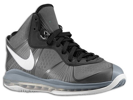Nike Air Max LeBron 8 V2 Black/Grey