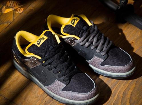 NikeSBDunkLowYellowCurb1