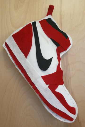 Air Jordan 1 Christmas Stocking | SneakerFiles