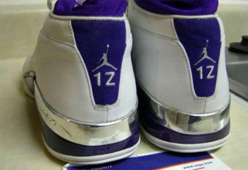 Air Jordan XVII Low - Mike Bibby PE