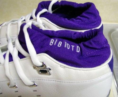 Air Jordan XVII Low - Mike Bibby PE