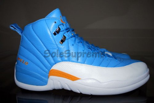 Air Jordan XII - Carmelo Anthony Away PE
