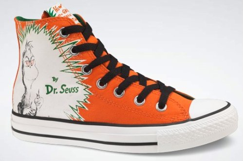 Converse 'The Grinch' - Dr. Seuss Collection
