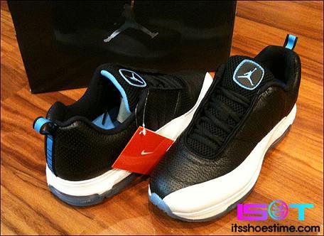 Jordan CMFT Max Air 12 LTR Black/University Blue-White