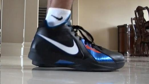 Video: Kevin Durant's Neighbor Stunts in the KD III