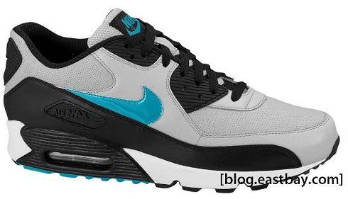 Nike Air Max 90  Neutral Grey / Blustery-Black