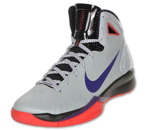 Nike Hyperdunk 2010 - Wolf Grey/Black-Red